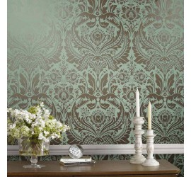 Обои флизелиновые Graham&Brown Established - Desire Mint Wallpaper 103435