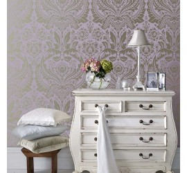 Обои флизелиновые Graham&Brown Established - Desire Lavender Wallpaper 103436
