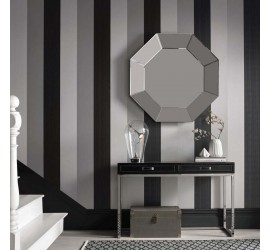Обои флизелиновые Graham&Brown Established - Figaro Black Wallpaper 103527