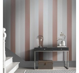 Обои флизелиновые Graham&Brown Established - Figaro Rose Gold Mink Wallpaper 103530