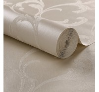 Обои флизелиновые Graham&Brown Established - Baroque Bead Pearl Wallpaper 103816