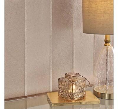 Обои флизелиновые Graham&Brown Established - Baroque Bead Stripe Champagne Wallpaper 103821