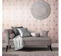 Обои флизелиновые Graham&Brown Established - Art Deco Rose Gold Wallpaper 104298