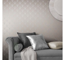 Обои флизелиновые Graham&Brown Established - Fan Rose Gold Wallpaper 104302