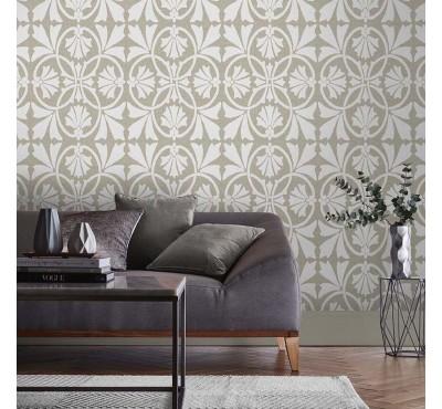 Обои флизелиновые Graham&Brown Established - Thrones Chalk Taupe Wallpaper 105274