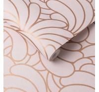Обои флизелиновые Graham&Brown Established - Bananas Copper Blush Wallpaper 105281