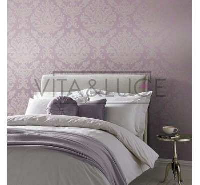 Обои флизелиновые Graham&Brown Established - Antique Lilac Wallpaper 105448