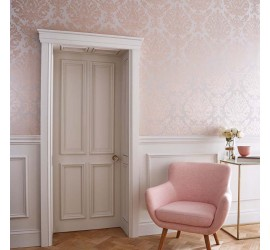 Обои флизелиновые Graham&Brown Established - Antique Taupe Rose Gold Wallpaper 105451