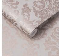 Обои флизелиновые Graham&Brown Established - Antique Taupe Rose Gold Wallpaper 105451