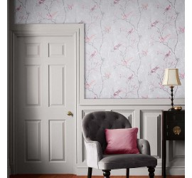 Обои флизелиновые Graham&Brown Hybryd - Tori Mist Wallpaper 105768