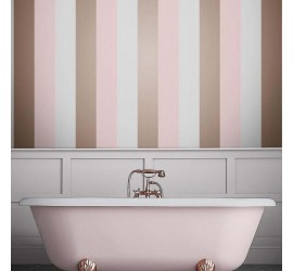 Обои флизелиновые Graham&Brown Established - Figaro Blush Wallpaper 106349