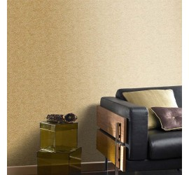 Обои флизелиновые Graham&Brown Minimalist - Tranquil Gold Wallpaper 33-343