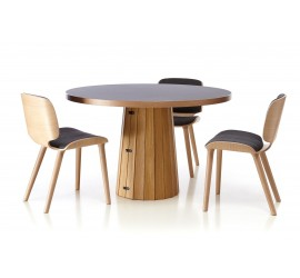 Moooi - Container Table Bodhi with Linoak Top