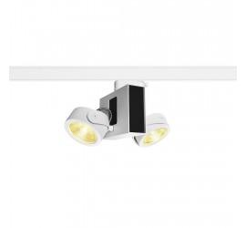 Трековый светильник SLV - Tec Kalu Double White/Black 60° 3000K 1001420