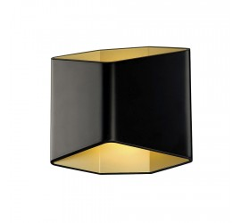 Бра SLV - Cariso 2 Wl Indoor Led Surface-Mounted Wall Light Black/Gold 2700K 151710