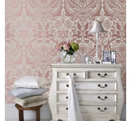 Обои флизелиновые Graham&Brown Established - Desire Rose Gold Mink Wallpaper 103434