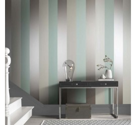 Обои флизелиновые Graham&Brown Established - Figaro Mint Wallpaper 103531