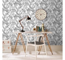 Обои флизелиновые Graham&Brown Hybryd - Botanical Shadow Wallpaper 103801