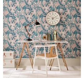 Обои флизелиновые Graham&Brown Hybryd - Botanical Dusk Wallpaper 103802