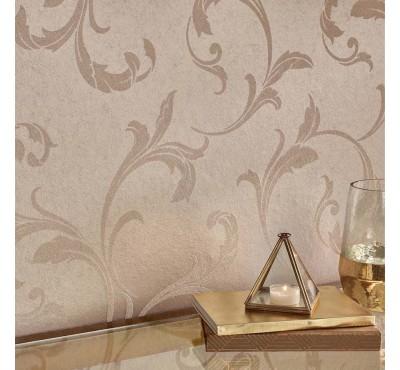 Обои флизелиновые Graham&Brown Established - Baroque Bead Champagne Wallpaper 103818