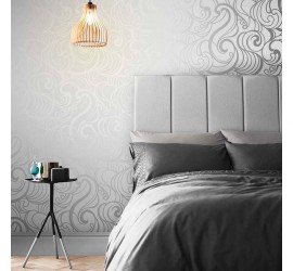Обои флизелиновые Graham&Brown Established - Hula Swirl Ghost Wallpaper 105271