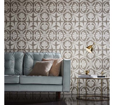 Обои флизелиновые Graham&Brown Established - Thrones Mocha Wallpaper 105275