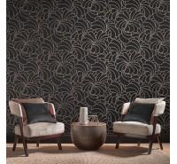 Обои флизелиновые Graham&Brown Established - Bananas Rose Noir Wallpaper 105280