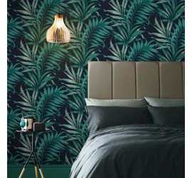 Обои флизелиновые Graham&Brown Hybryd - Yasuni Midnight Wallpaper 105660