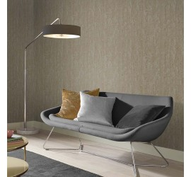 Обои флизелиновые Graham&Brown Minimalist - Orbit Gold Silver Wallpaper 105858