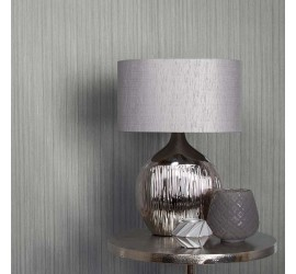 Обои флизелиновые Graham&Brown Minimalist - Silk Silver Wallpaper 105867