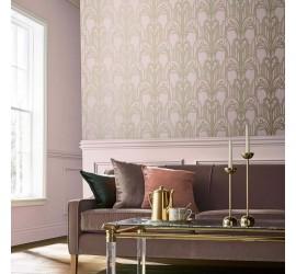 Обои флизелиновые Graham&Brown Established - Art Deco Blush Wallpaper 105919