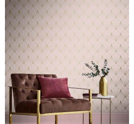 Обои флизелиновые Graham&Brown Established - Rene Blush Wallpaper 105925