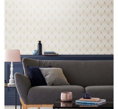Обои флизелиновые Graham&Brown Established - Rene Shimmer Wallpaper 105926