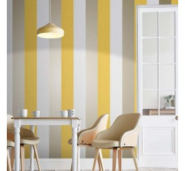 Обои флизелиновые Graham&Brown Established - Figaro Yellow Wallpaper 106350