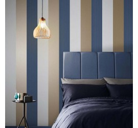 Обои флизелиновые Graham&Brown Established - Figaro Navy Wallpaper 106351