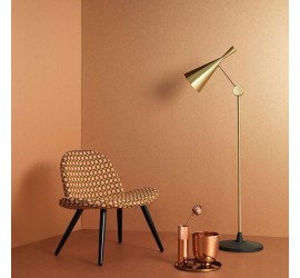 Обои флизелиновые Graham&Brown Minimalist - Tranquil Copper Wallpaper 33-342